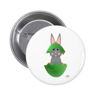 Ornamento gris feliz Christma del navidad del verd Pin