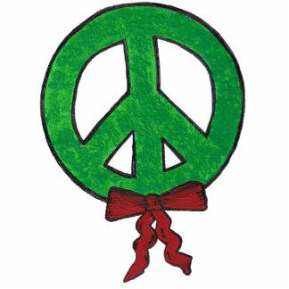 Ornamento - guirnalda de la paz escultura fotografica