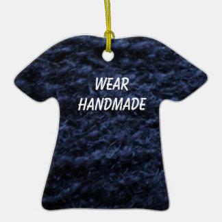 Ornamento hecho a mano de la camiseta del ganchill ornamentos de reyes magos