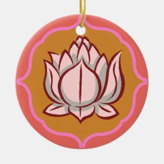 Ornamento hindú de la flor de loto
