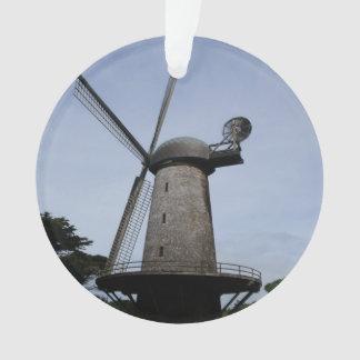 Ornamento holandés del molino de viento de San