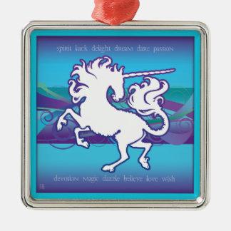 Ornamento inspirado 2013 del unicornio de Holidaze