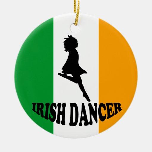Ornamento irlandés del baile de paso adorno para reyes