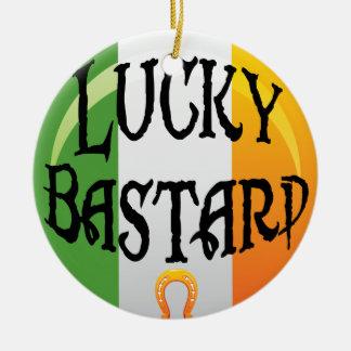 Ornamento irlandés divertido del navidad