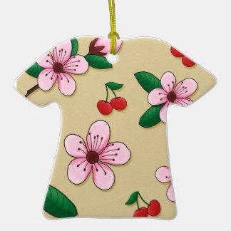 Ornamento japonés del navidad de la flor de cerezo ornamento de reyes magos