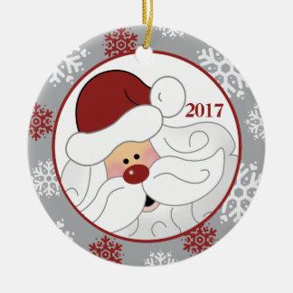 Ornamento lindo del día de fiesta de Papá Noel -