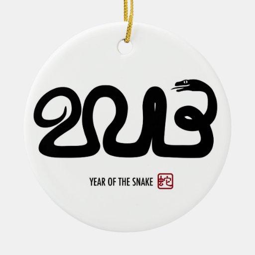 Ornamento lunar chino del Año Nuevo 2013 Ornamento De Navidad