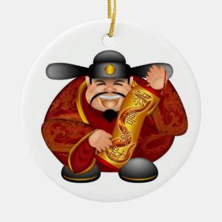 Ornamento lunar chino feliz del Año Nuevo Ornamento Para Reyes Magos