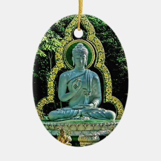 Ornamento Meditating de Buda Ornato
