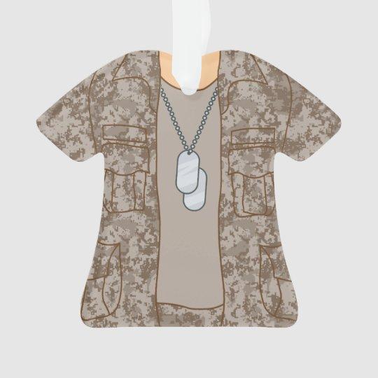Ornamento militar personalizado del soldado del