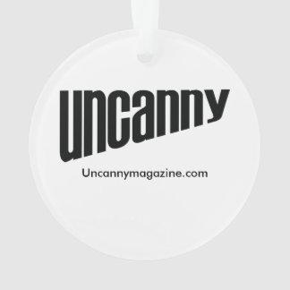 Ornamento misterioso del unicornio del espacio de
