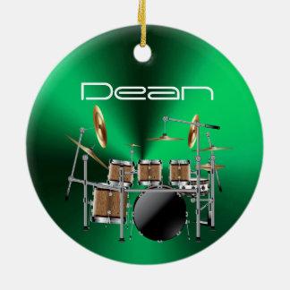 Ornamento musical personalizado del navidad del
