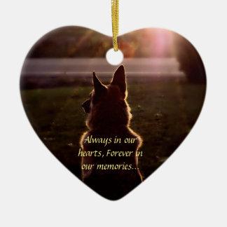 Ornamento perdido del mascota