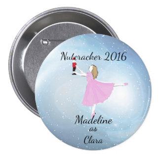 Ornamento personalizado de Clara Chapa Redonda De 7 Cm