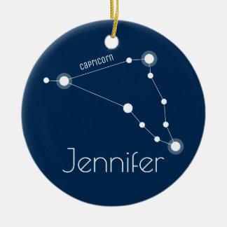 Ornamento personalizado de la constelación del