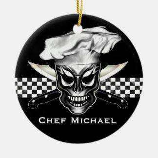 Ornamento personalizado del cocinero