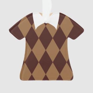 Ornamento personalizado del navidad del suéter del