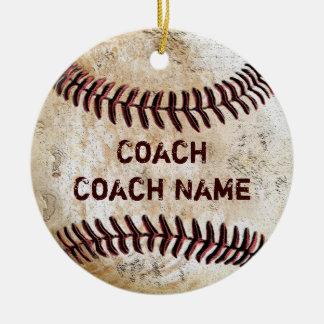 Ornamento PERSONALIZADO regalos del entrenador de