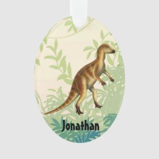 Ornamento prehistórico del dinosaurio de