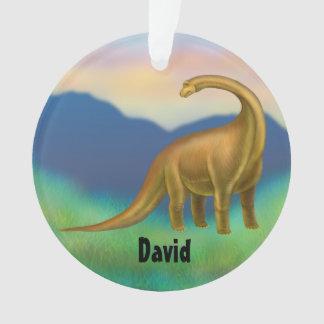 Ornamento prehistórico del dinosaurio del