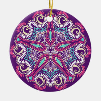 Ornamento púrpura exótico de las estrellas de mar