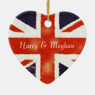 Ornamento real de Harry y del boda de Meghan