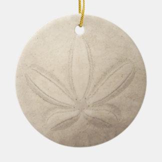 Ornamento redondo del dólar de arena