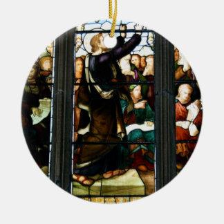 Ornamento religioso de la escena ornamentos para reyes magos