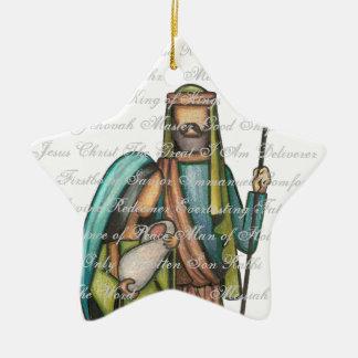 Ornamento religioso del navidad ornamentos de reyes magos