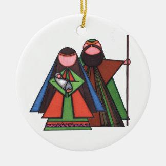 Ornamento religioso del navidad ornamentos de navidad