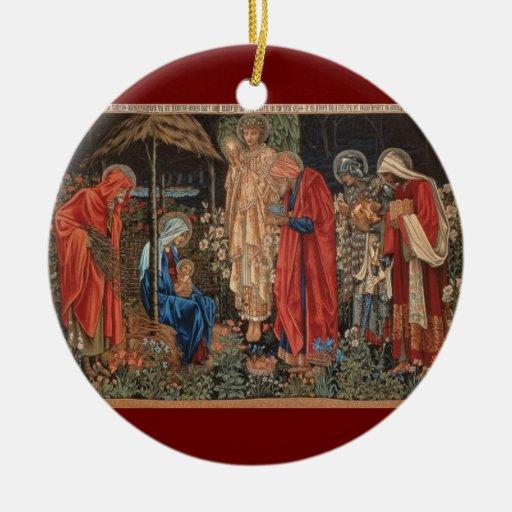 Ornamento religioso del navidad de Jesús del bebé Adornos