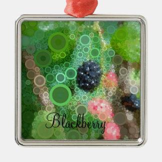 Ornamento salvaje de Blackberry del arte pop
