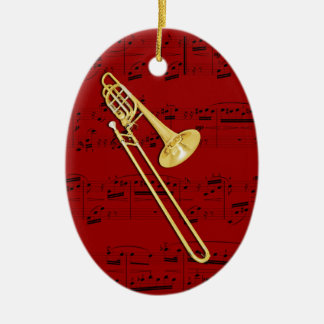 Ornamento - Trombone (bajo) - escoja su color