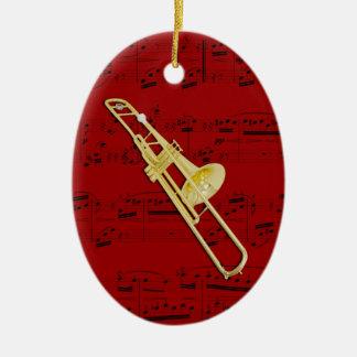Ornamento - Trombone (válvula) - escoja su color