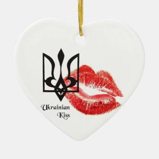 Ornamento ucraniano del del beso