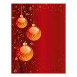 Ornamentos brillantes del navidad folleto 21,6 x 28 cm