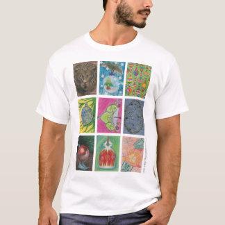 Ornamentos de los artistas múltiples camiseta