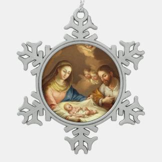 """""""Ornamentos del navidad de Natividad del La"""" Adornos"""