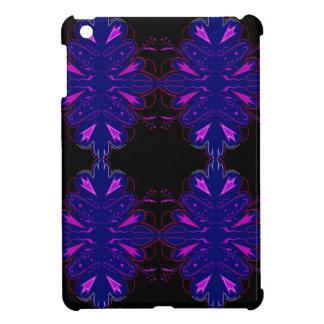 Ornamentos negros púrpuras del vintage