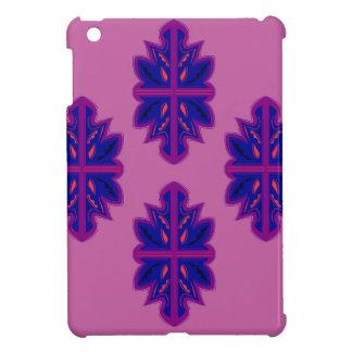 Ornamentos populares púrpuras