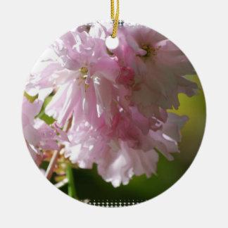 Ornamentos rosados de las flores de cerezo ornamentos de reyes