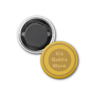 Oro 1-1/4 del marcador del ~TAG~ de los inspectore Iman De Frigorífico