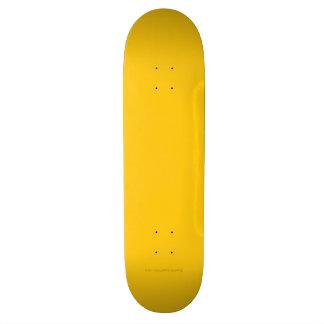 Oro amarillo tablas de skate