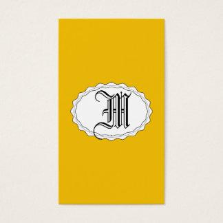 Oro amarillo tarjeta de negocios