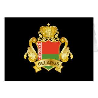 Oro Bielorrusia Tarjeta De Felicitación