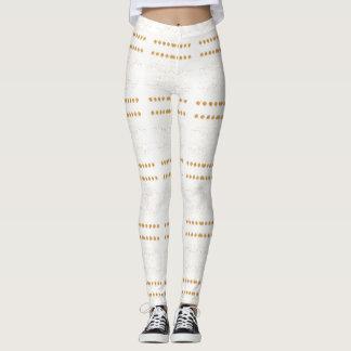 Oro blanco leggings