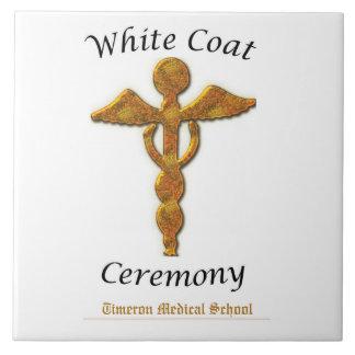 Oro blanco médico, artículo cuadrado de la azulejo cuadrado grande