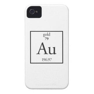 Oro Case-Mate iPhone 4 Fundas