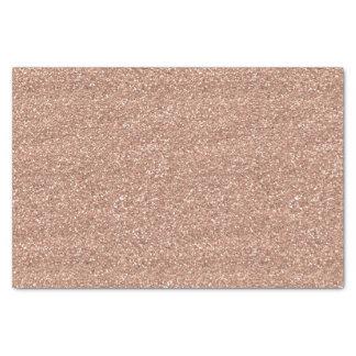 Oro color de rosa papel de seda