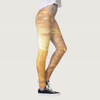 Oro congelado leggings